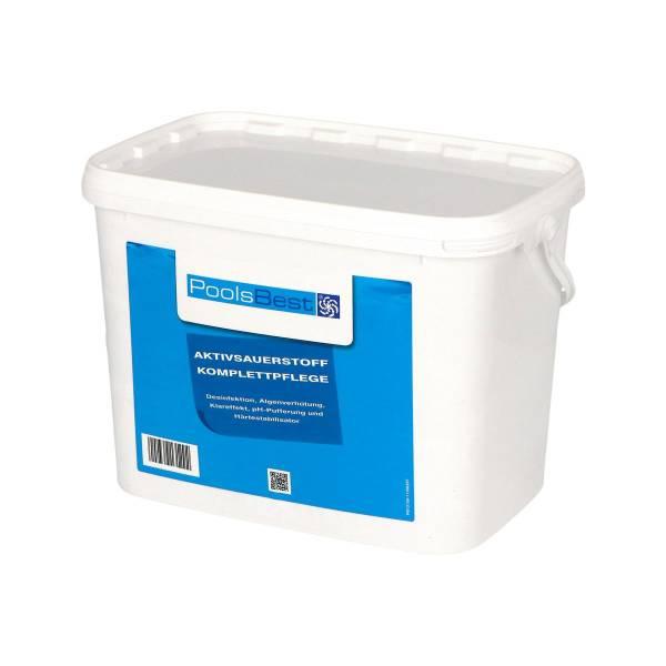 4,48 Kg PoolsBest® Aktivsauerstoff-Komplettpflege 16 Doppelbeutel