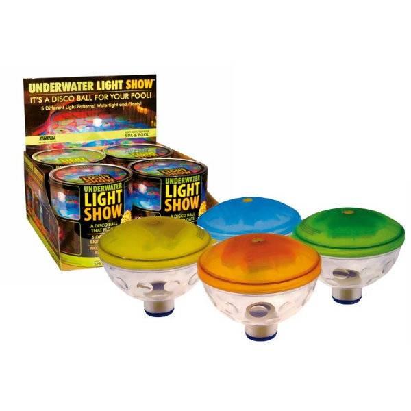 LED Unterwasser Lichtshow
