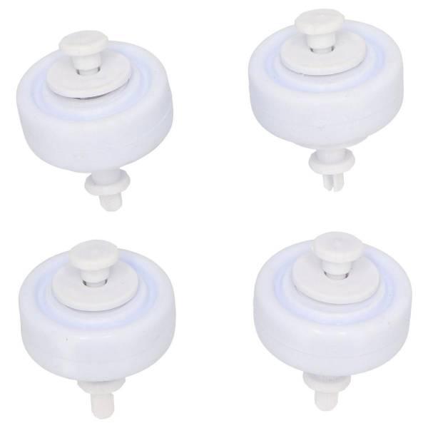 PVC Ersatzrollen für Bodensauger im 4-er Set