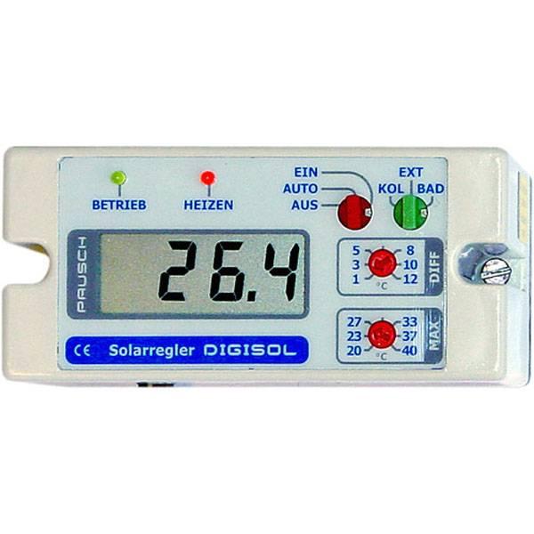 Digisol - Differenztemperaturregler mit Digitalanzeige