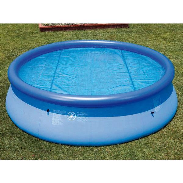 solarnoppenfolien f r easy frame pool 244 cm st rke 120 mikron pool chlor shop. Black Bedroom Furniture Sets. Home Design Ideas