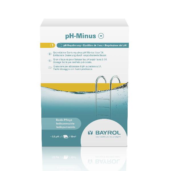 2 kg bayrol ph minus granulat pool chlor shop. Black Bedroom Furniture Sets. Home Design Ideas