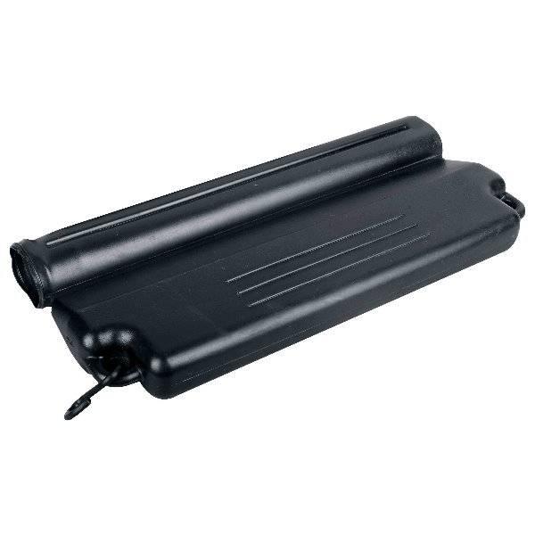 Eisdruckpolster schwarz mit Haken