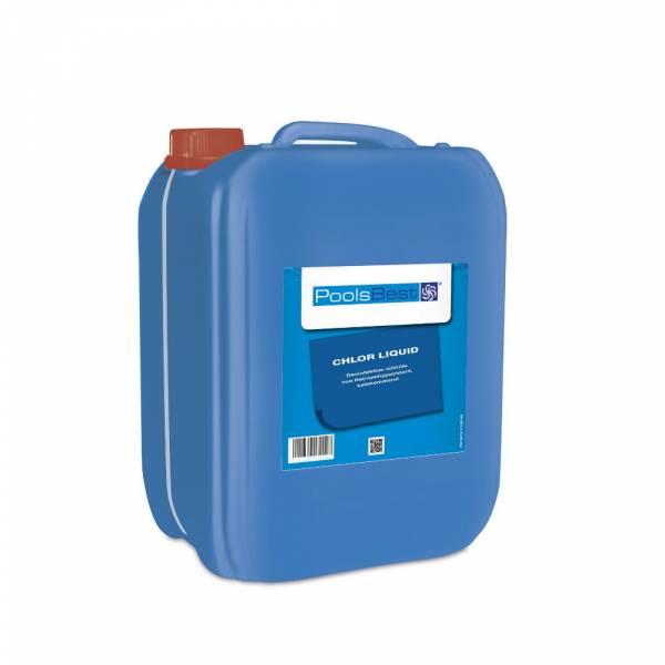 12 Kg - PoolsBest® Chlor-Flüssig (Flüssigchlorbleichlauge)