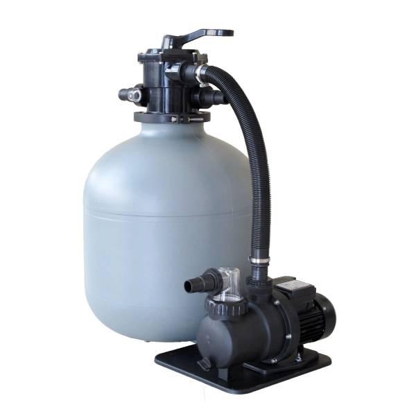Sandfilteranlage Trinidad mit SPS-100-1 Pumpe 8m³/h - 470mm