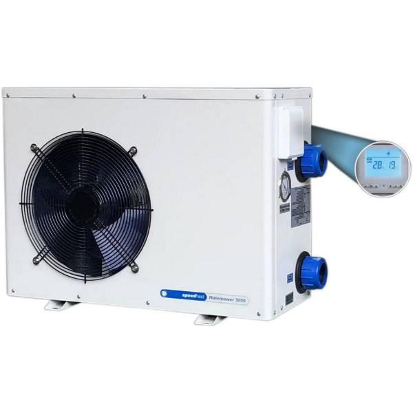 Wärmepumpe Waterpower 8500 - 8,5 kW für 55m³ Beckeninhalt