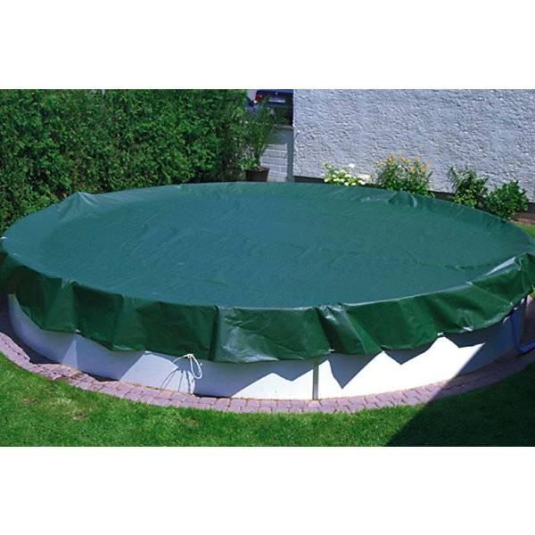 winterabdeckplane f r rundbecken pool chlor shop. Black Bedroom Furniture Sets. Home Design Ideas