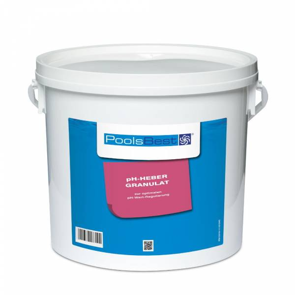 5 Kg - PoolsBest® pH-Heber Granulat