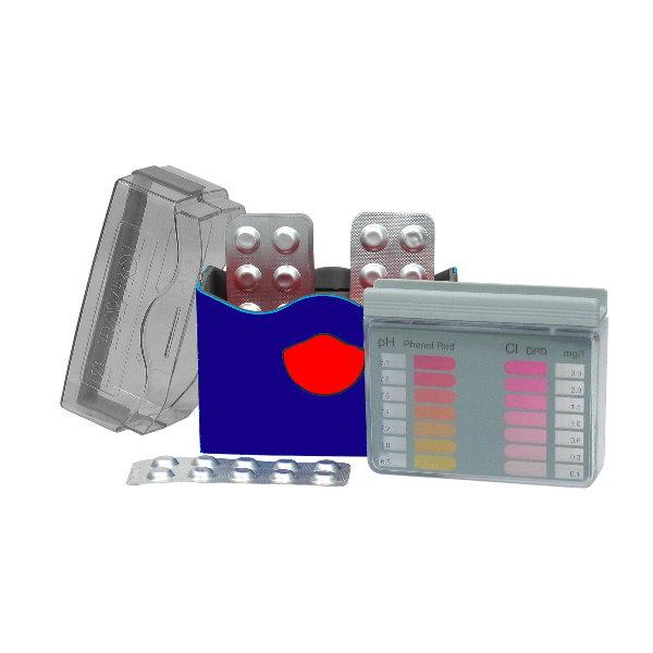 bayrol pool tester chlor ph pool chlor shop. Black Bedroom Furniture Sets. Home Design Ideas