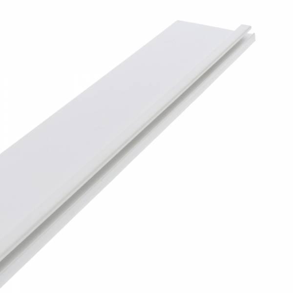 Hart-PVC Befestigungsprofil (breit) - für rechteckige Styroporsteinbecken