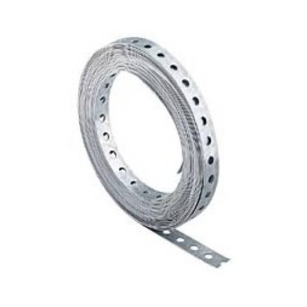 10m Rolle Lochband verzinkt 12 x 1 mm