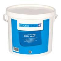 5 Kg - PoolsBest® Chlor Multitabs 5 in 1, 200 g Tabs