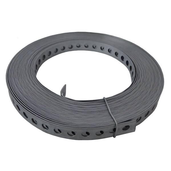 Lochband V2A 12 x 0,8 mm - pro Rolle à 10 m