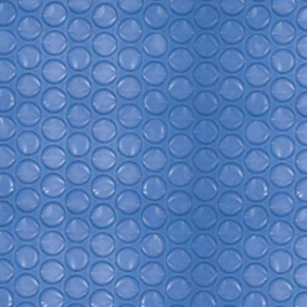 Solarabdeckung blau 300my für Achtformbecken